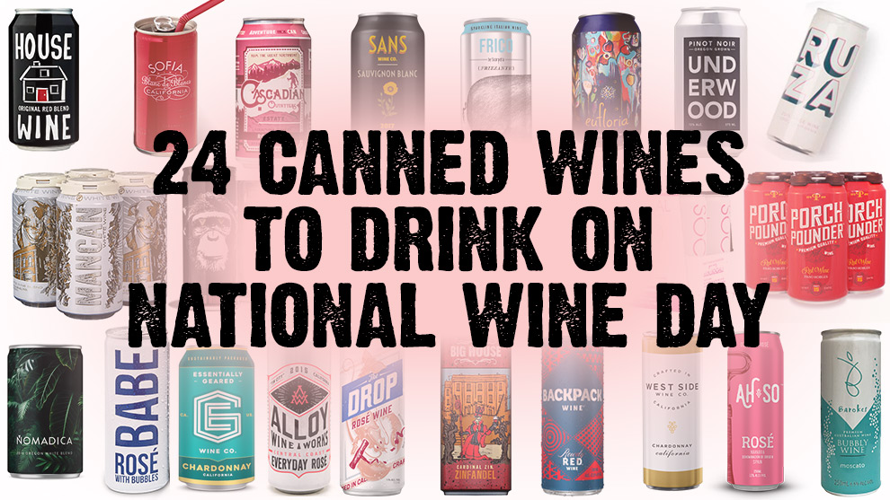 24 Canned Wines to Drink on National Wine Day