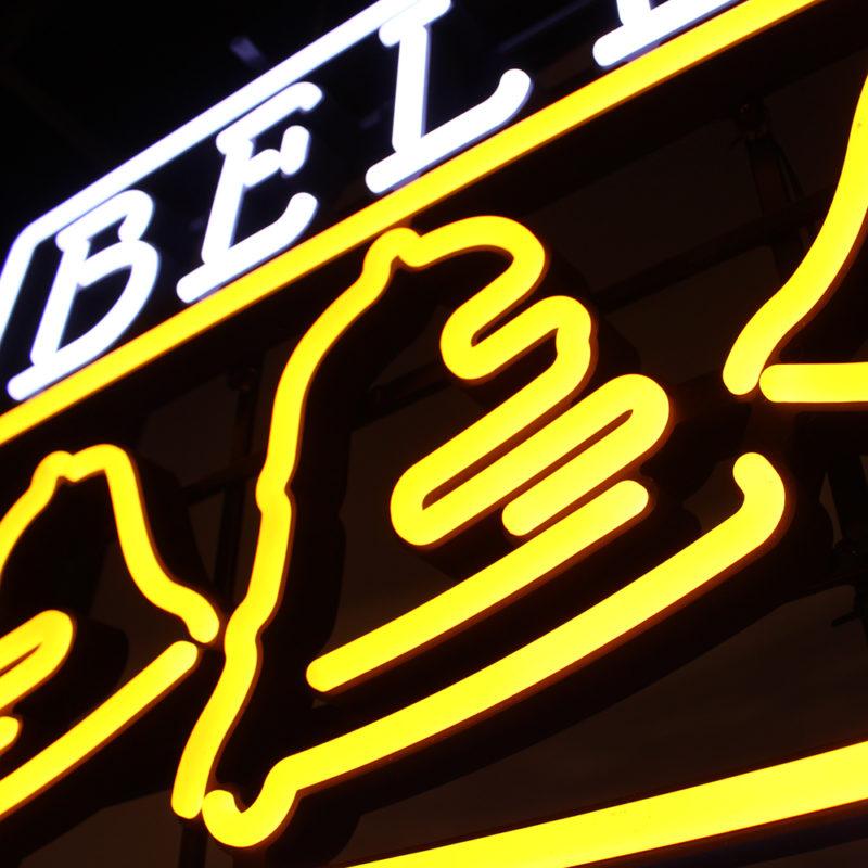Bells Brewing LEON Sign, Custom Sign Design, Zeon, Zeon Signs, Custom Neon Signs, LEON Signs, Custom LED Signs, Custom Open Signs, Beer Sign, Brewery Light Sign, Craft Beer Sign