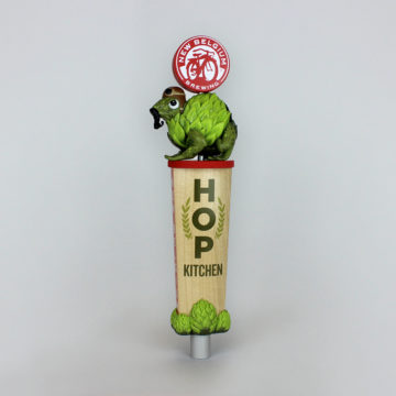 New Belgium Brewing Tap Handle – Angled View
