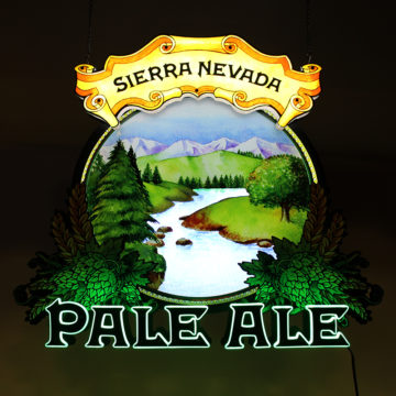 Sierra Nevada Pale Ale LED Dimensional Motion Sign