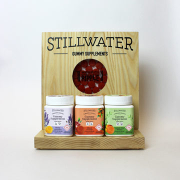 Stillwater Gummies Display – Detail